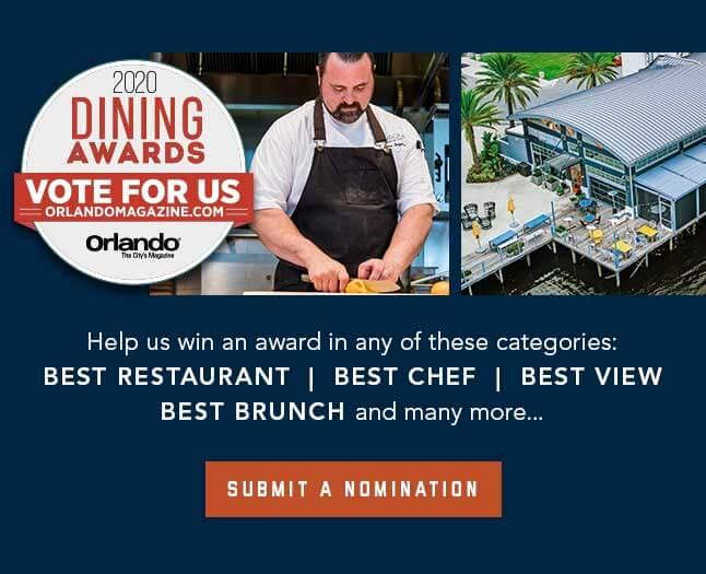 2020 Orlando Magazine Voting - Canvas Restaurant